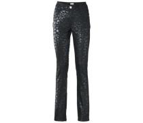 Bodyform-Push-up-Jeans grün / schwarz