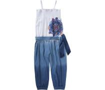 Jumpsuit für Mädchen blau