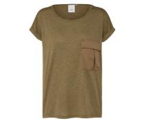 T-Shirt 'lovely' khaki