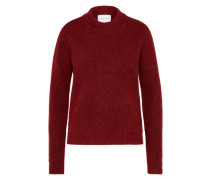 Pullover 'Brook O-neck' rot