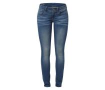 'Lynn Mid Skinny' Jeans dunkelblau