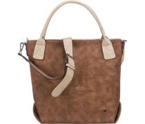 'Jessy' Handtasche beige / braun