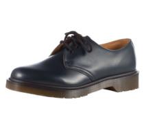 Leder-Halbschuhe '3 Eye Shoe Smooth' im Unisex-Look blau / dunkelblau