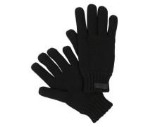 Handschuhe mit Fleece-Futter schwarz