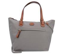 X-Bag Handtasche 24 cm hellgrau