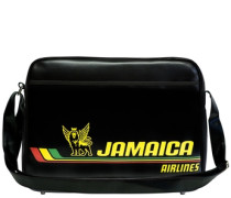 """Tasche """"Jamaica Airlines"""" schwarz"""