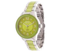Armbanduhr Es106192004 grün / silber
