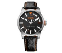 "Armbanduhr ""tokyo"" schwarz / silber"