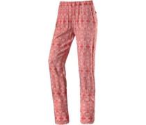 Printhose Damen pink / rot