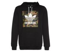 Kapuzensweatshirt 'camo BB HD' schwarz