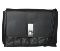 Crossover-Bag 'Carri3' schwarz / silber