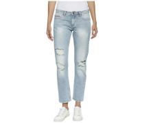 Hilfiger Denim Jeans »Straight Cropped Lana Gbcde« blue denim