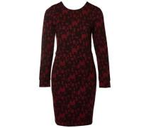 Kleid mit langen Ärmeln Bedruckte mischfarben