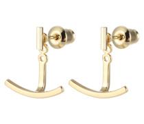 Ohrringe 'Anker' gold