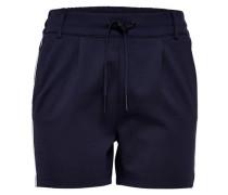 Shorts 'Poptrash' nachtblau / weiß