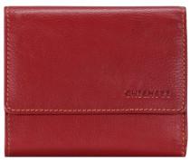 Vermentino Geldbörse Leder 125 cm rot