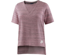 T-Shirt 'Advanced Knit' beere