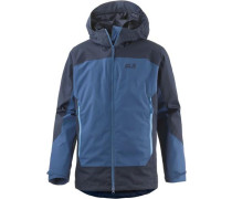 North Slope Funktionsjacke Herren blau