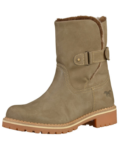 Stiefelette chamois / taupe