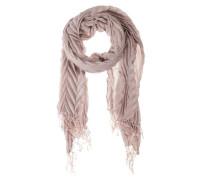 Schal im Plissee-Look lila