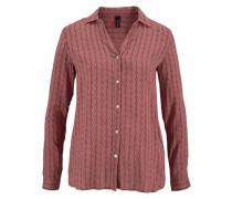 Klassische Bluse braun