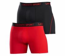 Boxer (2 Stück) rot / schwarz