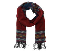 Maxischal 'Gypsy Scarf' blau / bordeaux