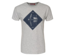 T-Shirt 'Mirage' grau