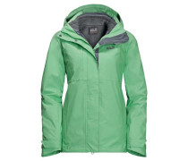 3-in-1-Funktionsjacke 'echo Pass Women' mint