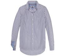 Bluse »Thdw Stripe Shirt L/S 15« blau / weiß