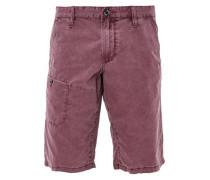 Tubx Regular: Chino-Shorts dunkelrot