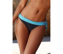 "Bikini-Hose ""Florida"" hellblau / schwarz / weiß"