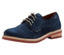 Derby-Schuhe blau