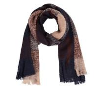 Weicher Schal blau / rosa