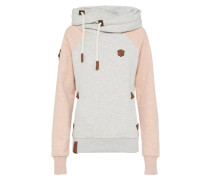 Sweatshirt 'So ein Otto' stone / rosa