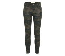 'Nela' Extra Slim Jeans mit Ankle camel / khaki