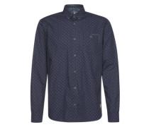 Hemd 'Ray print package shirt' dunkelblau