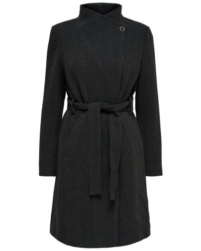 Mantel schwarzmeliert
