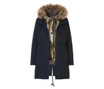 Winterjacke mit Kapuze und raustrennbarer Innenjacke dunkelblau