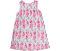 Kinder Kleid rosa / naturweiß