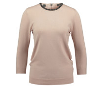 Esprit Collection Klassischer Rundhalspullover pink