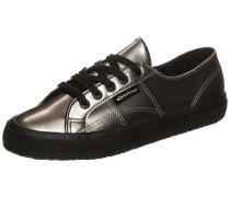 Sneaker 'Varnish Mirror' schwarz / silber