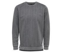 Sweatshirt Detailliertes grau