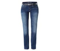 Straight Leg Jeans 'Alexa' blau