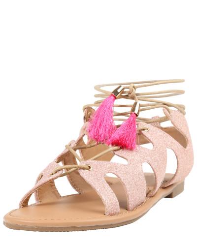 Buffalo Damen Sandaletten rosa