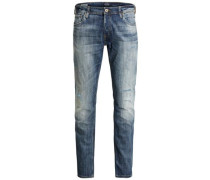 Slim Fit Jeans 'jjiglenn Jjoriginal GE 988 Noos' blue denim