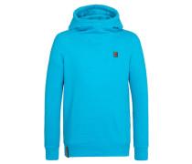 Hoody Kobragurke blau