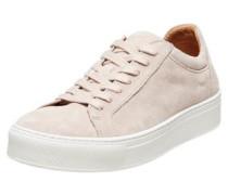 Sneaker aus Wildleder rosa