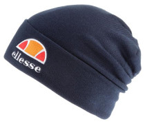 Beanie navy / orange / orangerot