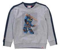 Sweatshirt Ninjago für Jungen blau / dunkelblau / braun / gelb / grau